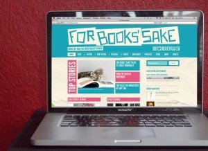 For Books Sake Website on a good laptop